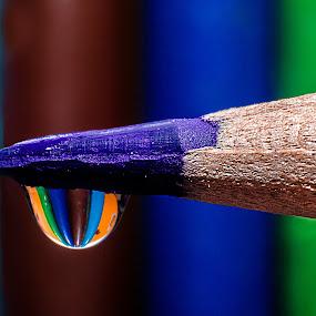 Water Droplet by Zeeshan Khan - Artistic Objects Education Objects (  )
