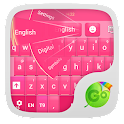 GO Keyboard Pink Fusion Theme