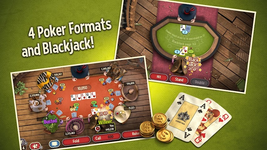 android Governor of Poker 3 - Free Screenshot 1