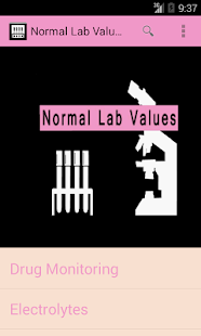 Normal Lab Values++ 醫療 App-癮科技App