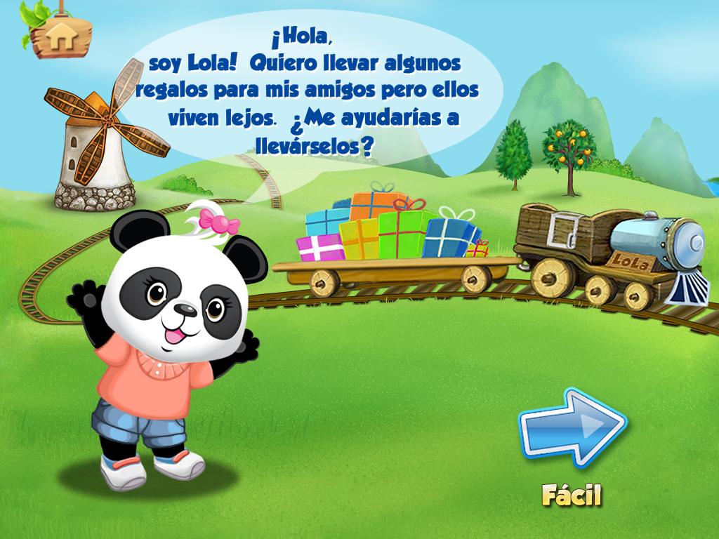 Tren del Alfabeto de Lola FREE: captura de pantalla