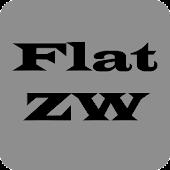 Flat Zooper Widget