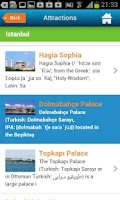 Screenshot of Istanbul Guide Hotels Weather
