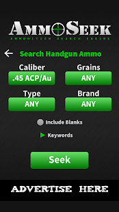 AmmoSeek - Ammo Search Engine- screenshot thumbnail