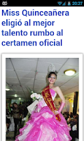 Screenshot of Bolivia Noticias