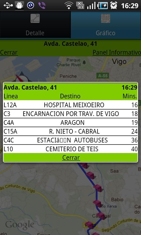 Bus Vigo- screenshot