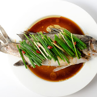 Authentic Chinese Steamed Fish.