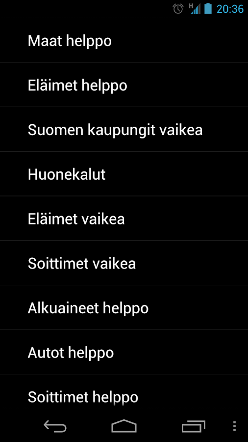 Hirsipuu suomi- screenshot