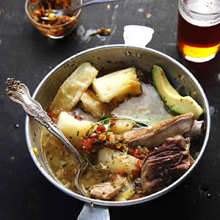 Puchero (Pork, Beef, and Chicken Soup).