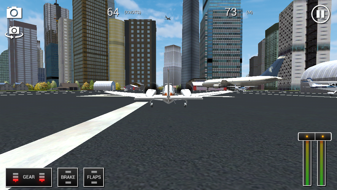 Flight Sim BeachCraft City- screenshot