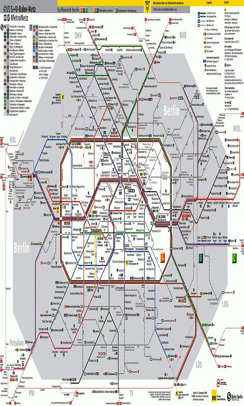 Berlin Metro Map- screenshot