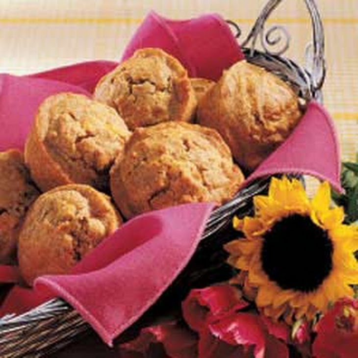 Caraway Rye Muffins Recipe