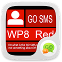 GO SMS Pro WP8 RED ThemeEX icon