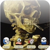 Smoking Skull [SQTheme] ADW