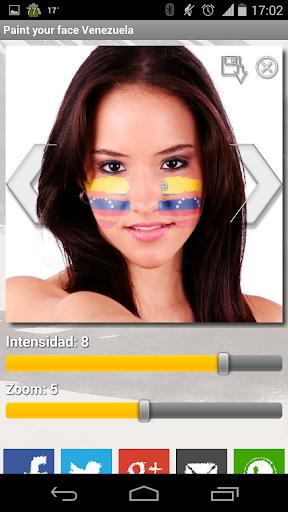 Paint your face Venezuela