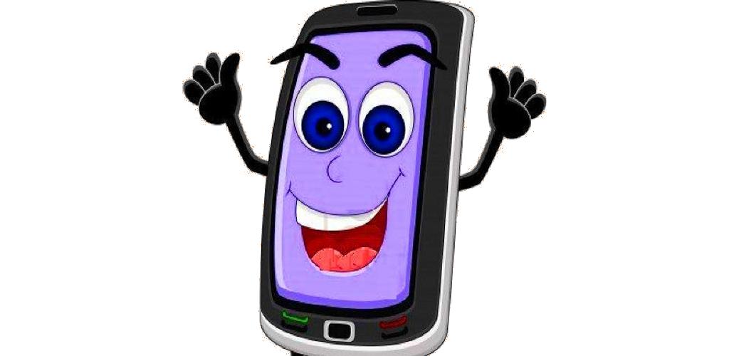 мультяшный смартфон картинки отношусь