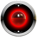 Poweramp Haut rot 3d icon