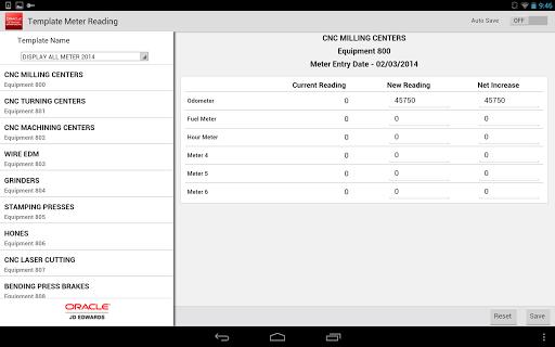 玩商業App|Meter Readings - JDE E1免費|APP試玩