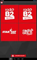 Screenshot of radio B2
