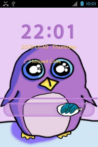 GO Locker Theme Penguin - screenshot