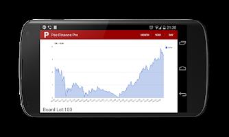 Screenshot of PSE Finance (Philippine Stock)