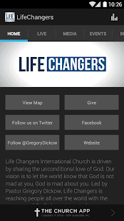 Life Changers Church App - screenshot thumbnail