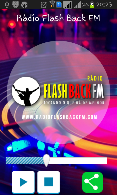 Rádio Flash Back FM- screenshot