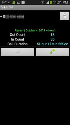 Quick Dial - screenshot