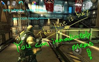 Screenshot of BaroMemo free(Easy Quick Memo)