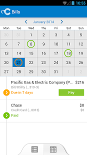 Check: Pay bills, credit cards - screenshot thumbnail