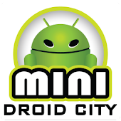 Mini Droid City Live Wallpaper