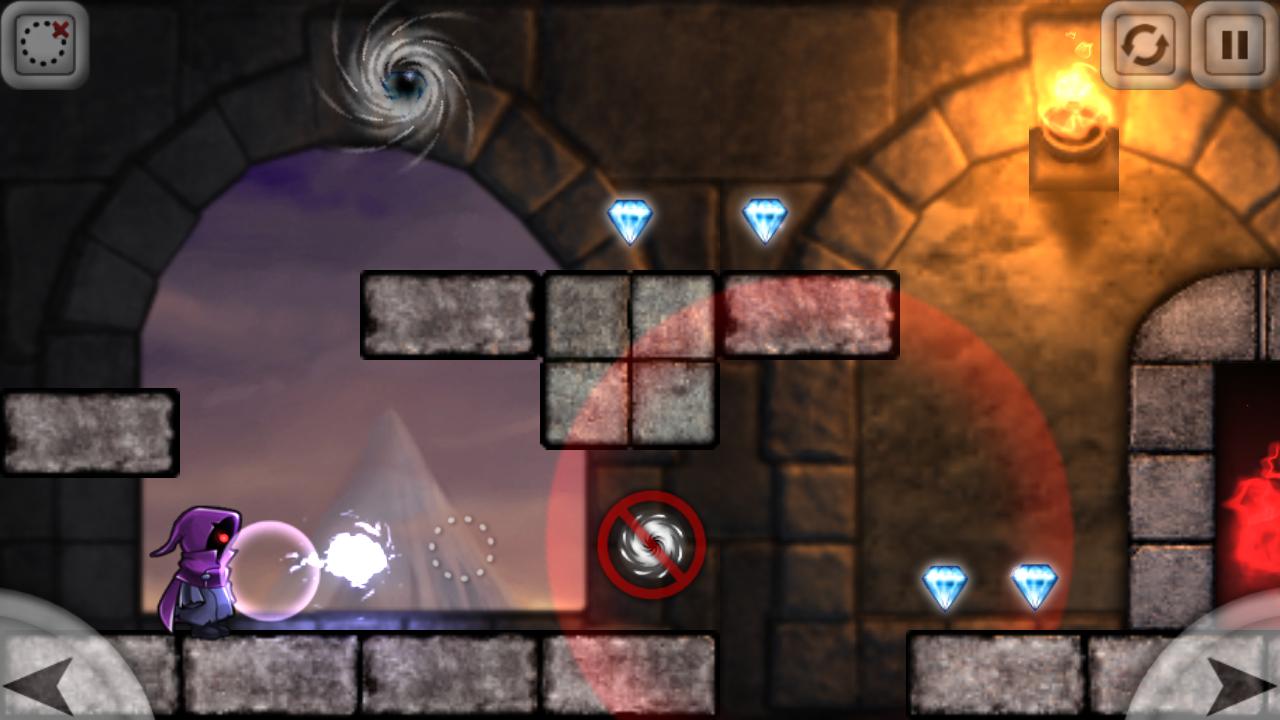 Magic Portals Free - screenshot