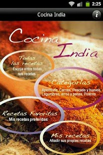 iCocinar Cocina India- screenshot thumbnail