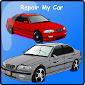 Reparieren einer Auto: BMW. icon