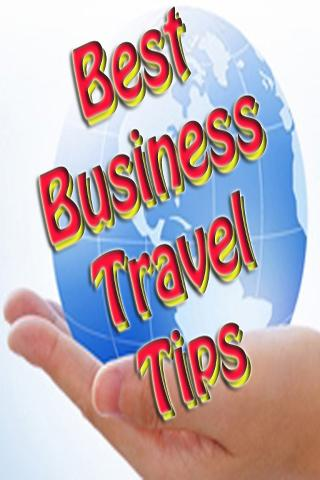 Best Business Travel Tips