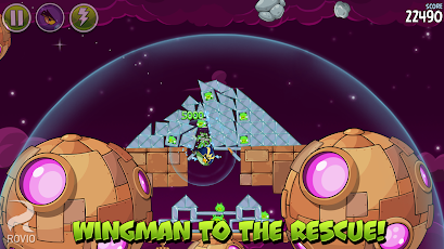 Angry Birds Space Premium Screenshot 32