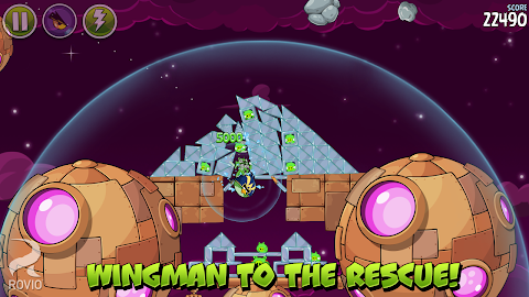 Angry Birds Space Premium Screenshot 3
