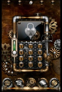 ADW Theme Steampunk - screenshot thumbnail