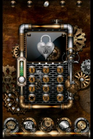 ADW Theme Steampunk- screenshot