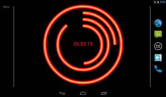 Neon Clock Live Free Wallpaper- screenshot thumbnail