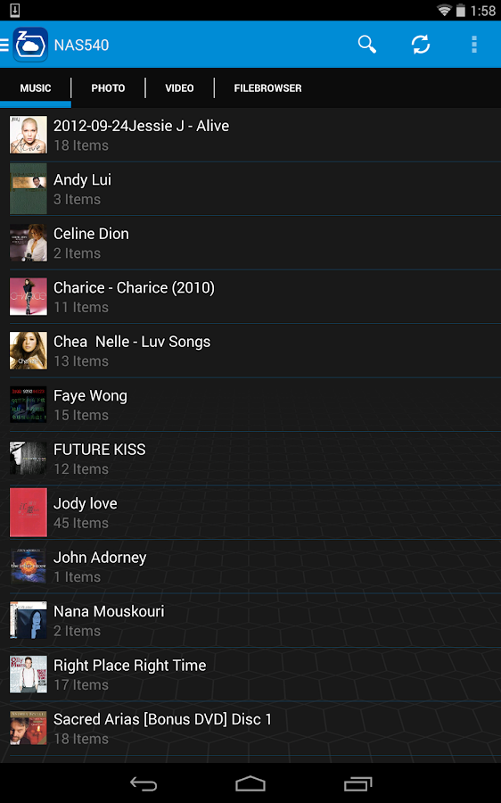zCloud- screenshot