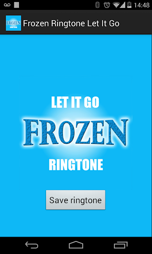 Frozen Ringtone - Let It Go