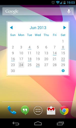 My Month Calendar Widget|玩個人化App免費|玩APPs