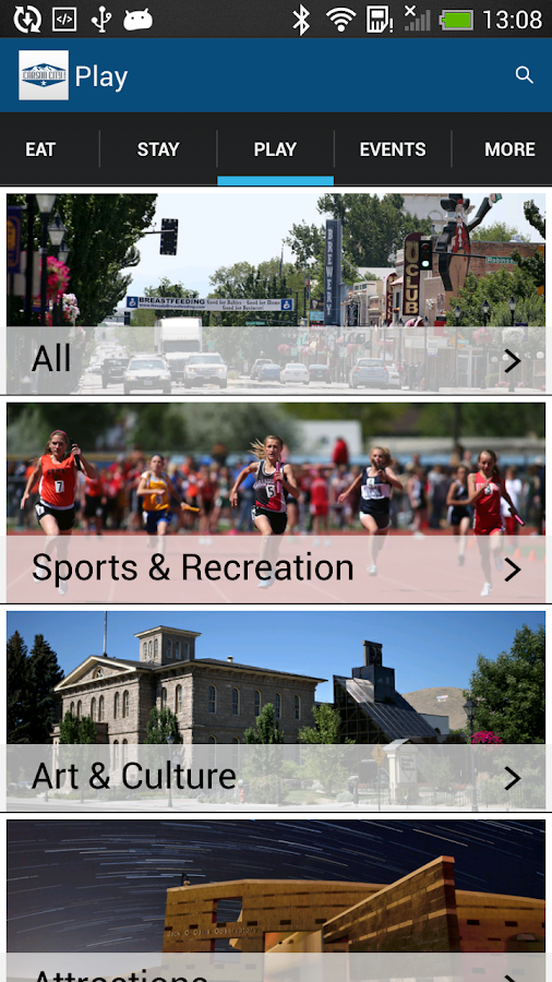 Visit Carson City- screenshot