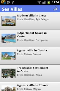 Book Villas in Greece - screenshot thumbnail