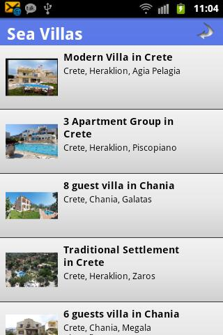 Book Villas in Greece - screenshot