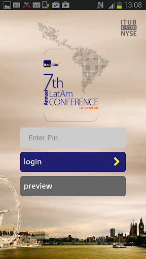 Itau BBA London Conference App