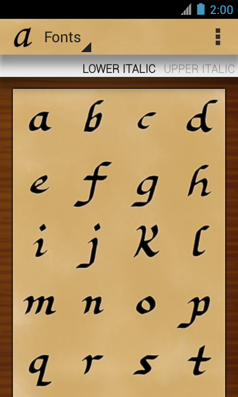 Calligraphy teacher pro android apps on google play