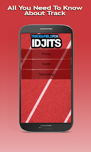 Track Field For Idjits