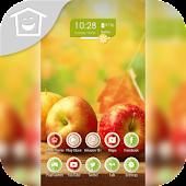 Juicy Fruit Apple Health Theme